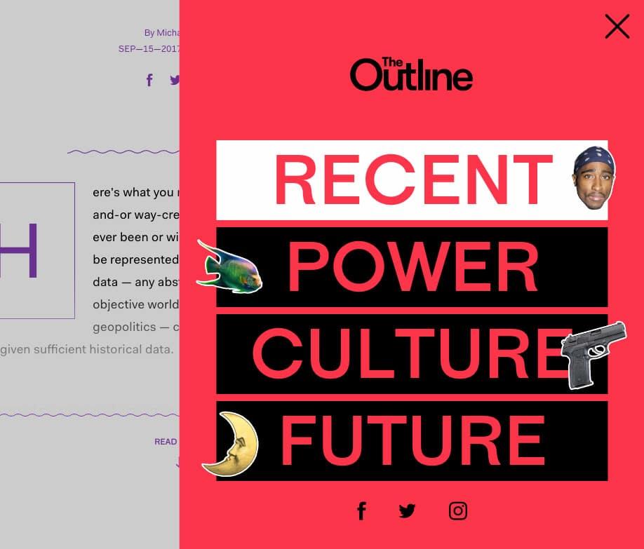 webdesign trend 2019: brutalisme
