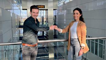Nieuwe collega: Tsaya van Oosterhout