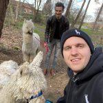 Alpaca farm en Dave van Dlogic